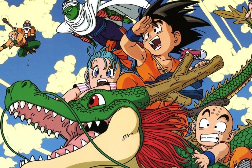 Bulma Dragon Ball Z Dragons Goku Krillin Master Roshi Piccolo Tien