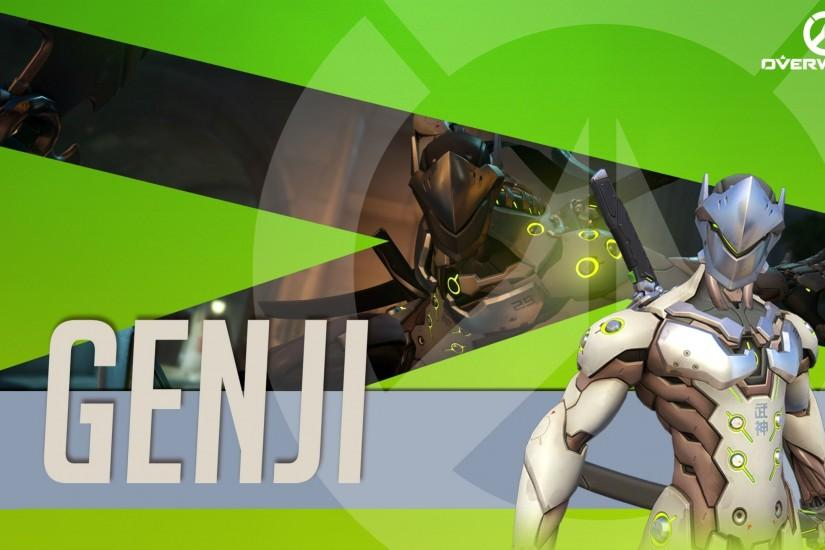 Blizzard Entertainment, Overwatch, Video Games, Genji (Overwatch) Wallpaper  HD