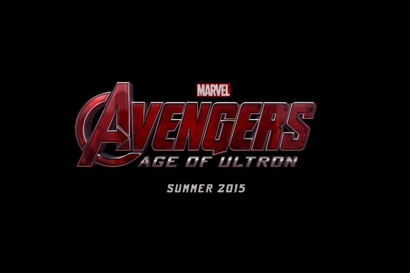 Movies Marvel Comics The Avengers logos black background Avengers 2 Age of  Ultron.