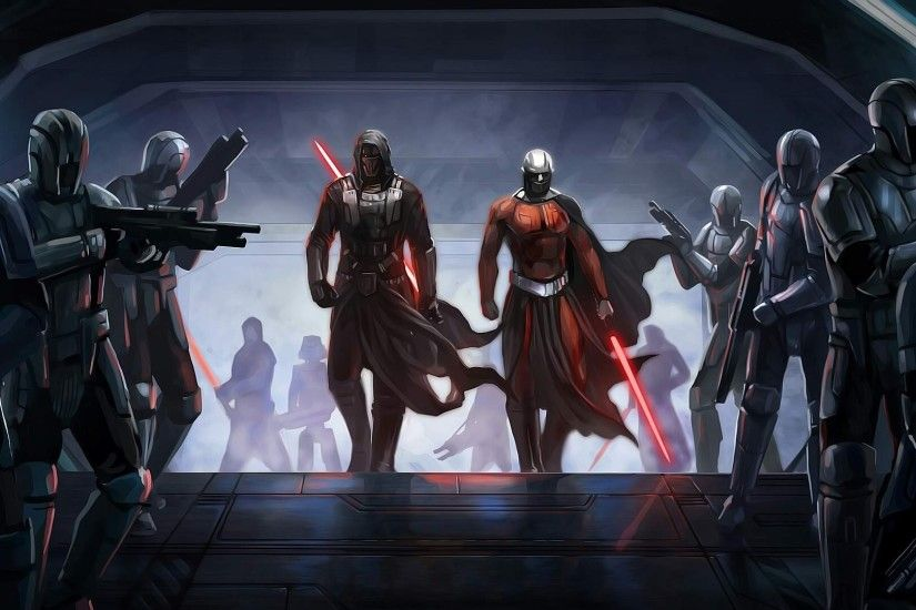 Star Wars, Sith, Movie Art, Darth Revan, Darth Malak Wallpapers HD /  Desktop and Mobile Backgrounds