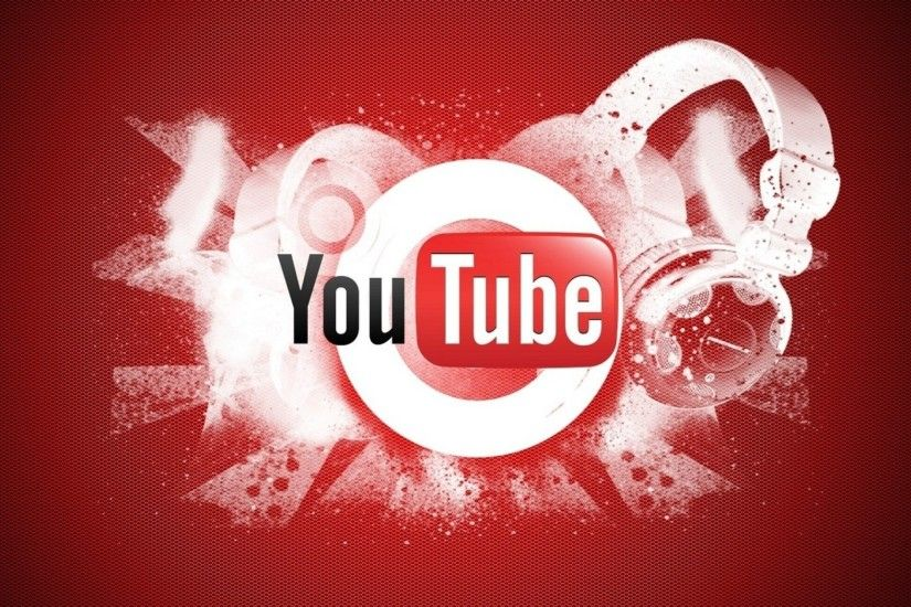 Preview wallpaper youtube, video hosting, logo, google 2048x1152