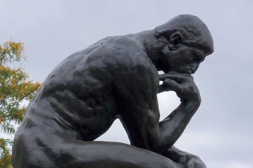 Images For > The Thinker Wallpaper