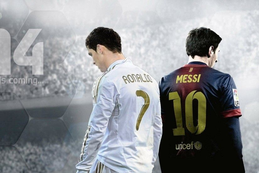 Collection of messi vs ronaldo wallpaper on Wall-Papers.info