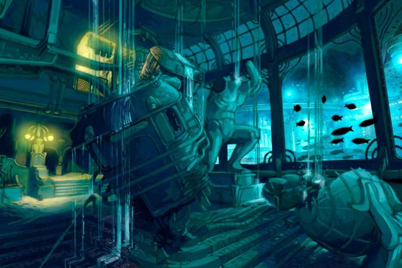Wallpaper Abyss Explore the Collection Bioshock Video Game Bioshock .