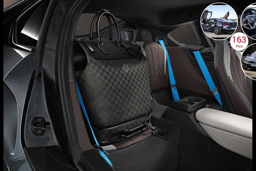 2015 BMW i8 Coupe - Louis Vuitton Luggage | HD Wallpaper #131 .