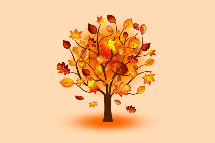 Autumn tree Digital Art desktop wallpaper, Tree wallpaper, Leaf wallpaper, Autumn  wallpaper, Fall wallpaper - Digital Art no.