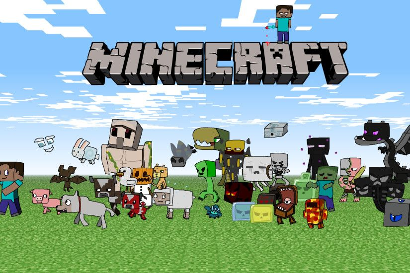 Minecraft Mobs Wallpaper Photo