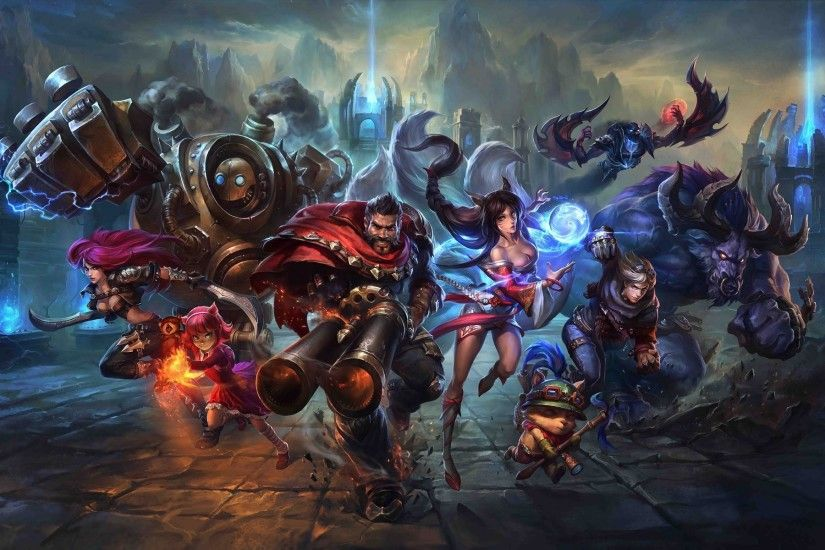 League Of Legends, Video Games, Artwork, Fantasy Art