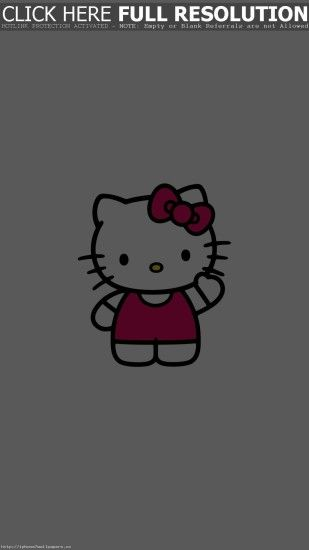 Hello Kitty Art Cute Logo Minimal Android wallpaper - Android HD wallpapers