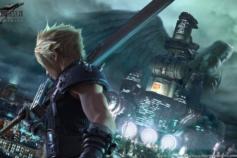 Cloud Strife, Final Fantasy VII, Video games, Midgar, Shinra, Sephiroth Wallpaper  HD