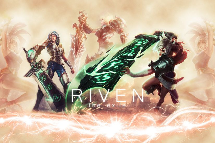 Riven League of legends wallpaper hd desktop