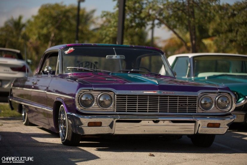 ... 1964 Chevrolet Impala - Pit Bull Four-Pump Set Up - Lowrider Magazine Lowriders  Wallpapers ...