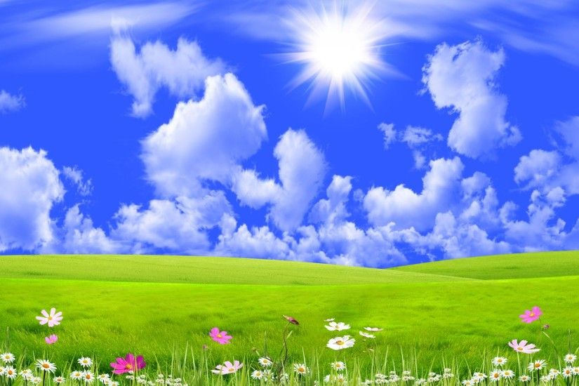 Grass And Sky Backgrounds. Grass And Sky Backgrounds G