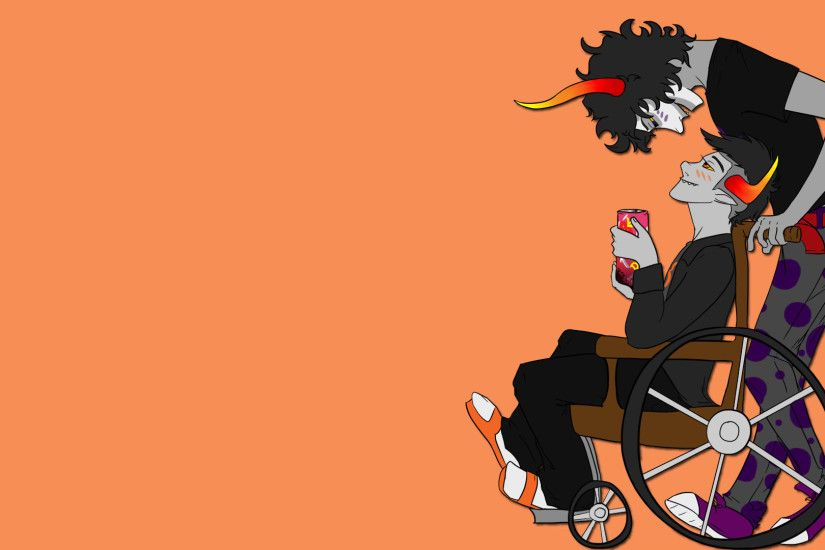 ... Homestuck: Gamzee and Tavros by SurlySkies