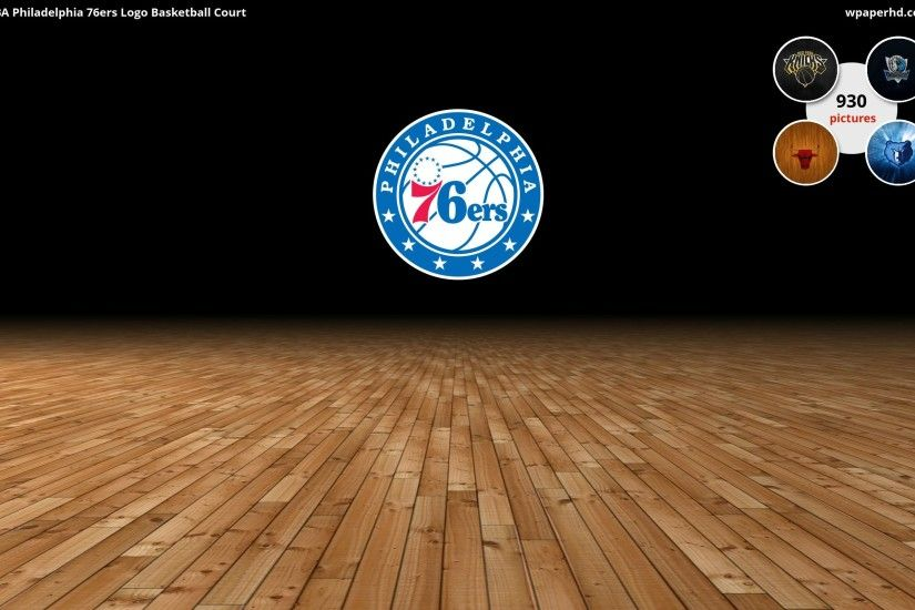 ... Philadelphia 76ers Logo Basketball Court wallpaper, where you can  download this picture in Original size and ...