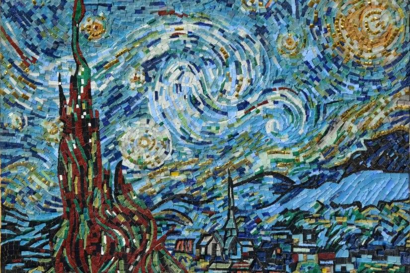 Starry Night - Van Gogh 'Look, I have had another dream' he said, 'I  thought I saw the sun, the moon and eleven stars, bowing to me.