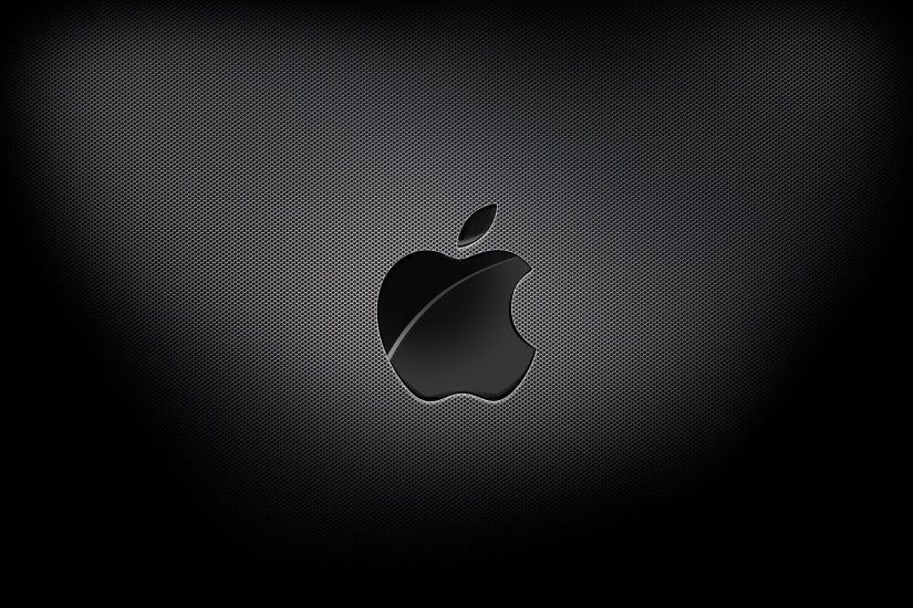 Black-Macbook-Air-Logo-Background