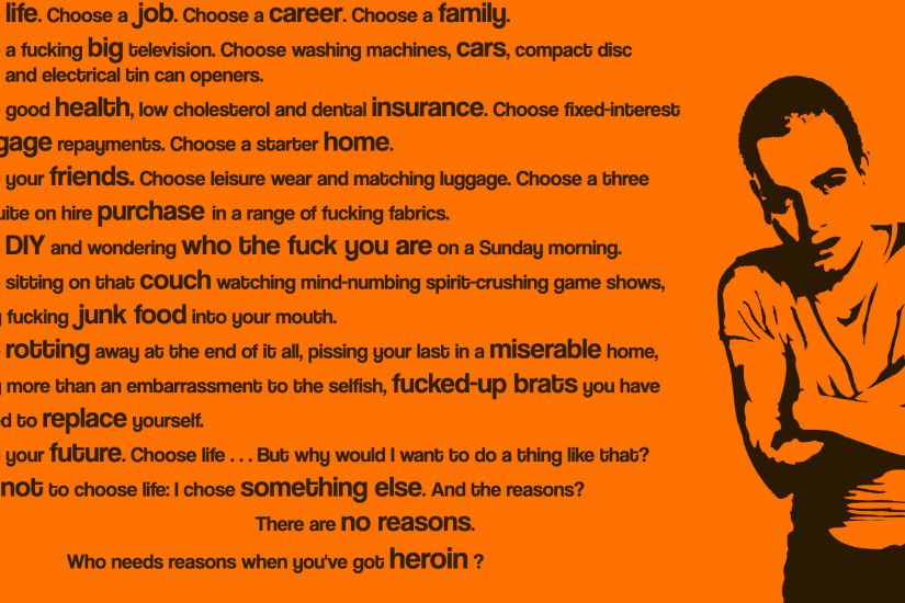 ... 170 best Favorite Movies images on Pinterest | Trainspotting ... Trainspotting  Wallpaper ...