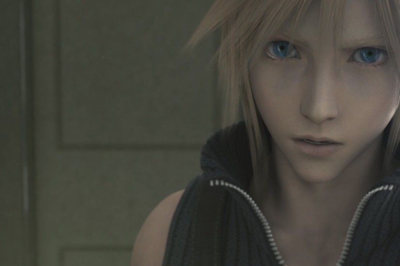 Cloud Strife Final Fantasy VII Advent Children Sephiroth Wallpaper 1920×1080