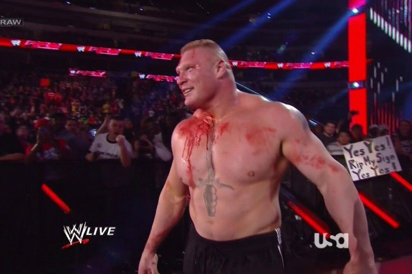 Pro Wrestling Flashback: Brock Lesnar Shows Up For The First Time And  Destroys Everyone