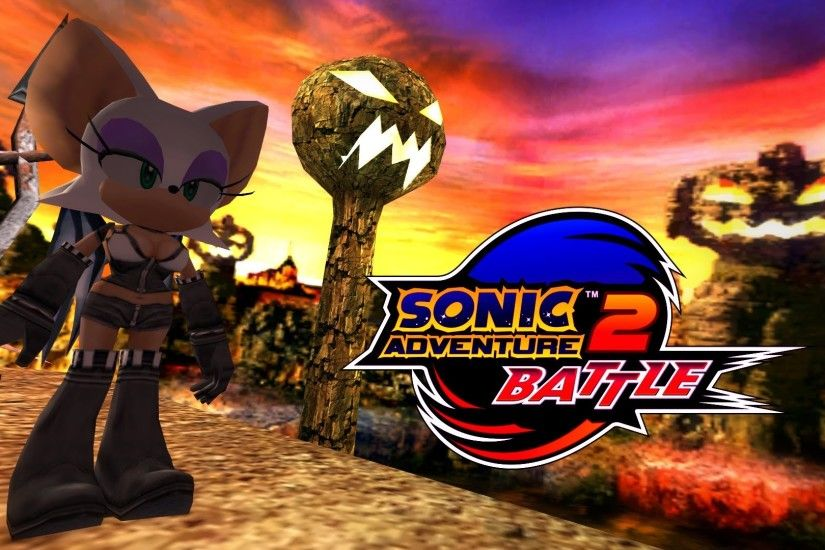 Sonic Adventure 2: Battle - Pumpkin Hill - Rouge (Alt. costume) [REAL Full  HD, Widescreen] 60 FPS - YouTube