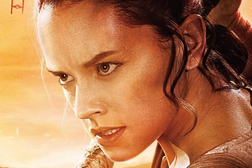 Daisy Ridley, Star Wars Episode 7 1920x1080 wallpaper.