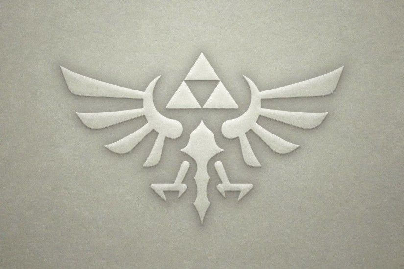 Found an awesome Hyrule Crest wallpaper!