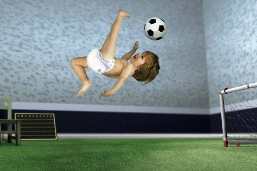 Click here to download in HD Format >> Baby Football Wallpapers http://