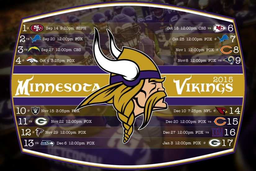"Search Results for ""minnesota vikings schedule wallpaper"" – Adorable  Wallpapers"