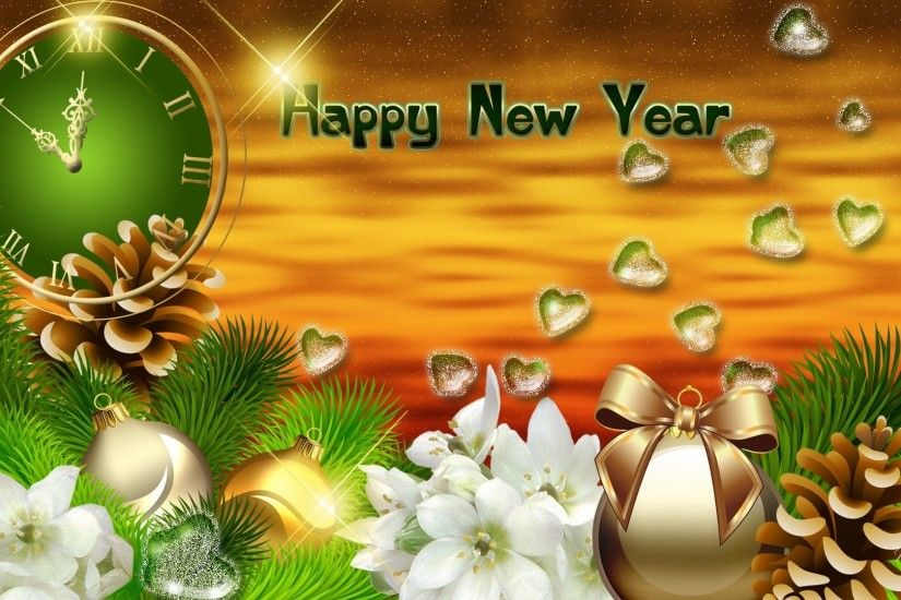 1920x1080 Happy New Year 2014 HD Wallpaper - New Year Widescreen HD .