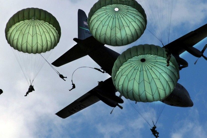 Airborne- Army Paratroopers Wallpaper [1920x1080]