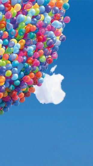 Cropped my previous deviation to fit the iPhone Balloons pictured are from  Disney Pixar's Up. iPhone 5 Wallpaper UP