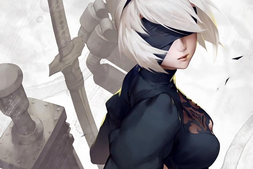 nier automata wallpaper 1920x1080 mac