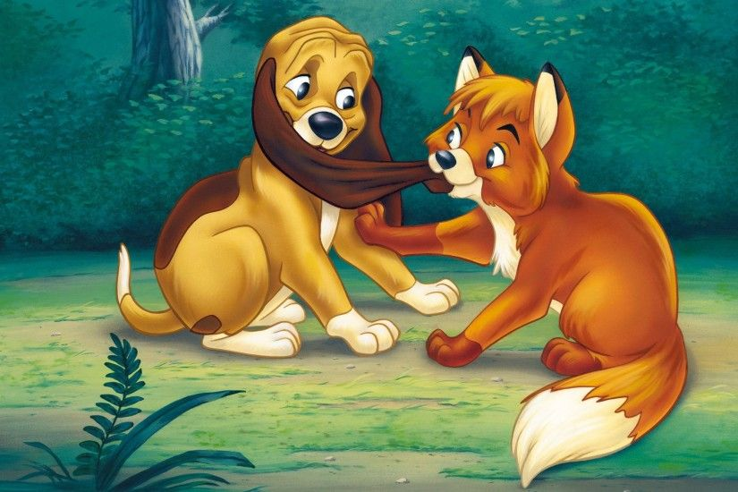 The Fox and the Hound Wallpapers High Quality | Download Free
