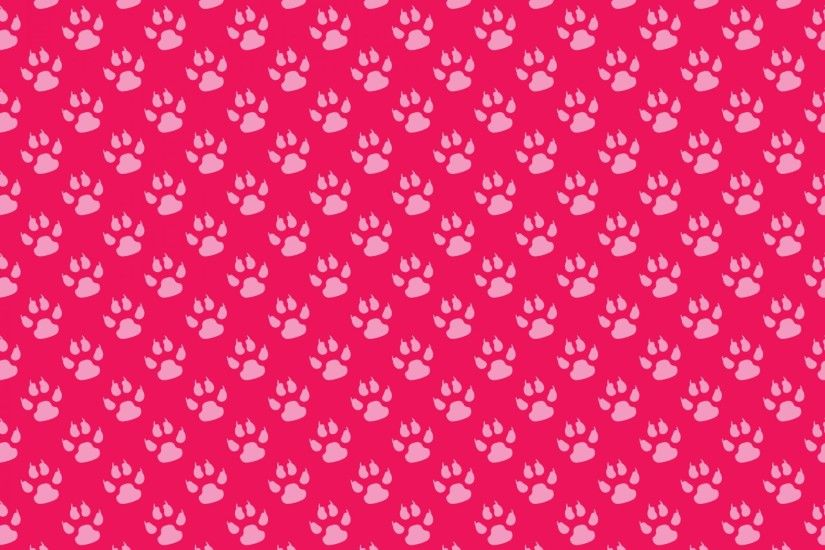 Paw Print Wallpaper Background