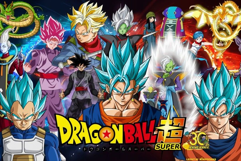 Anime - Dragon Ball Super Whis (Dragon Ball) Shenron (Dragon Ball) Zarama