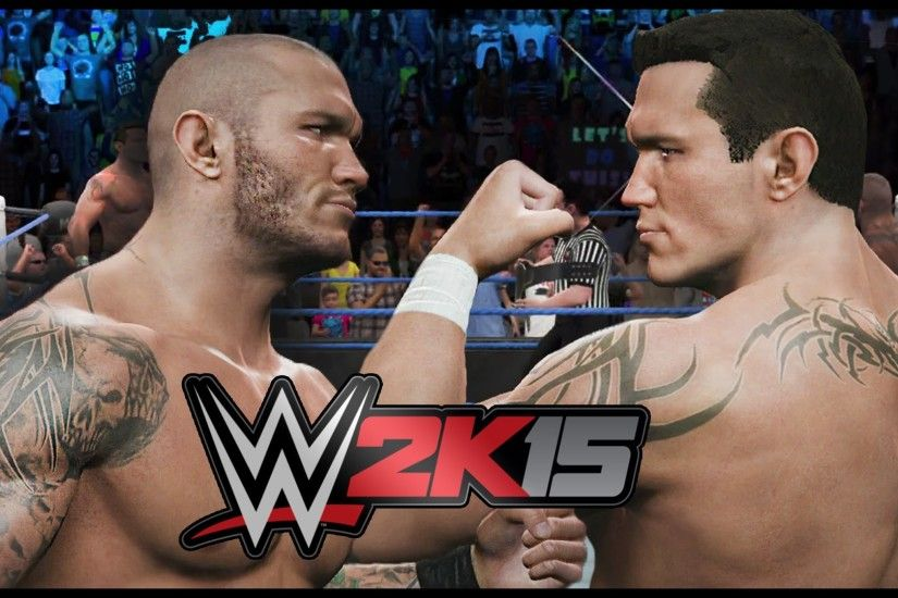 WWE 2K15 THE LEGEND KILLER VS THE VIPER! RANDY ORTON VS RANDY ORTON! -  YouTube
