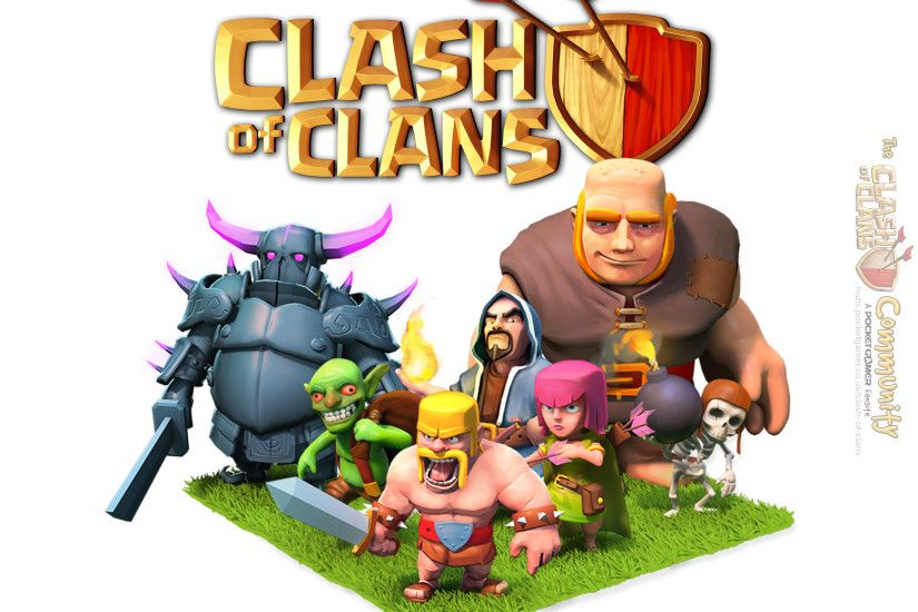 Clash of Clans wallpaper for iPad (2048x2048)