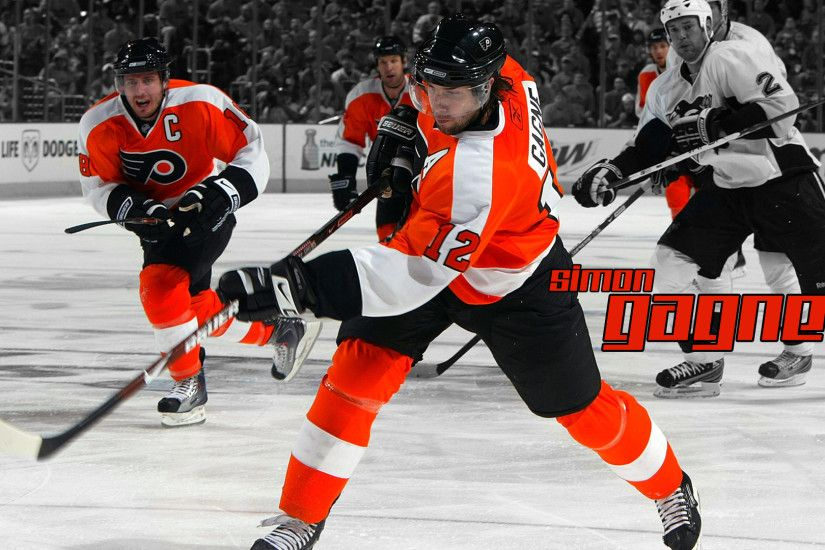 3D national hockey league NHL HD Wallpapers, Free HD wallpapers, Simon  Gagne, Philadelphia, Flyers