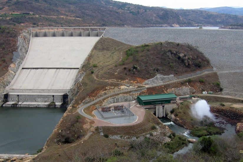 Photo of the Maguga Dam in Swaziland.