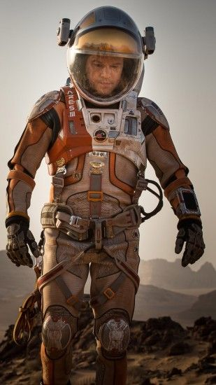 1080x1920 Wallpaper the martian, matt damon, mark watney