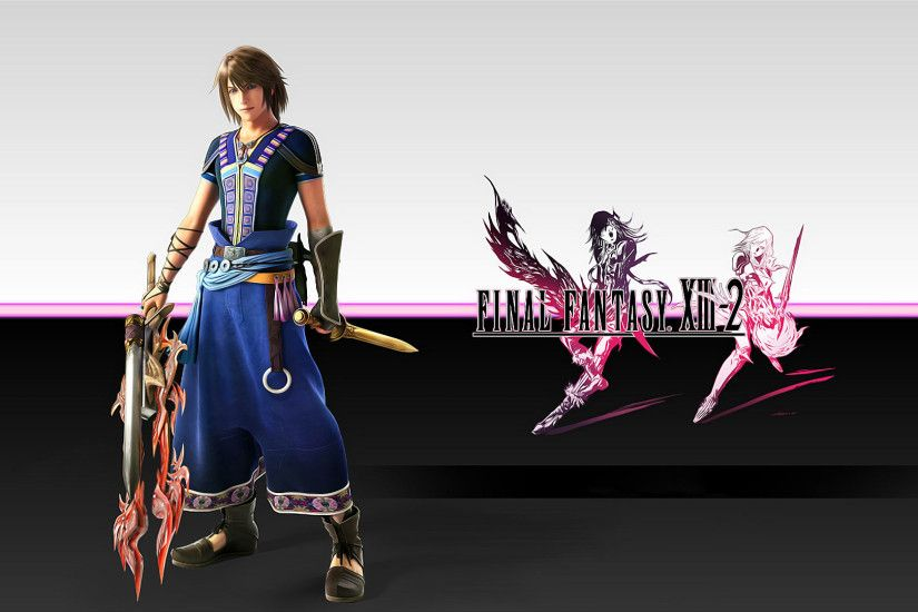 Download Final Fantasy X 13-2 Wallpaper 1