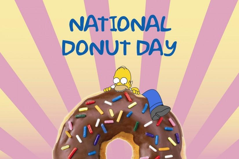 National Donut Day Wallpaper