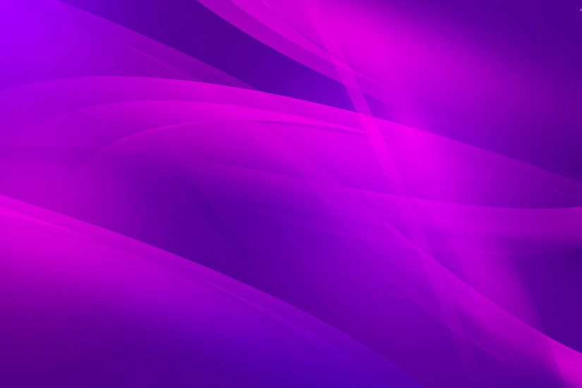 Pink curves on purple wallpaper