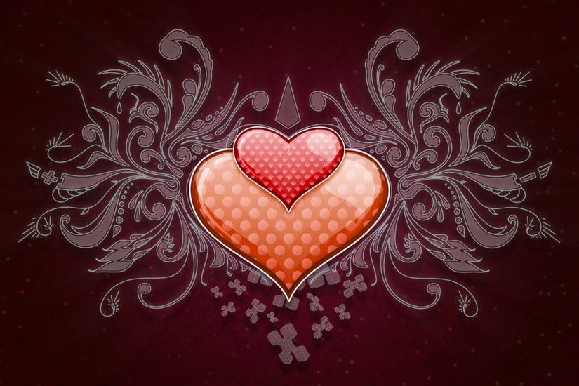 Love Heart Vector Images HD Wallpaper HD Wallpaper of