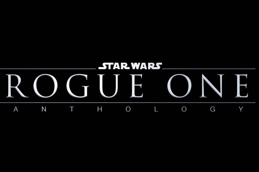 Rogue One: A Star Wars Story Logo 3840x2160 wallpaper