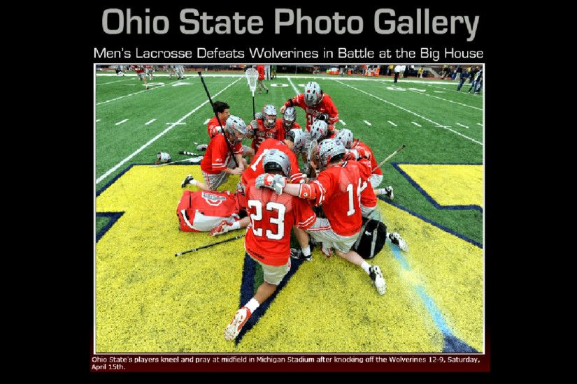Ohio State Buckeyes images 2012 MEN'S LACROSSE OSU DEFEATS TSUN HD wallpaper  and background photos