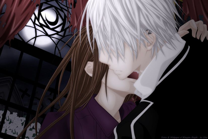 Tags: Anime, Vampire Knight, Yuki Cross, Kiryuu Zero, 2560x1600 Wallpaper,