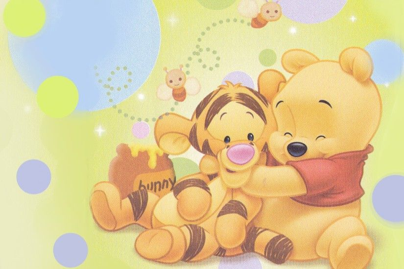 Bany shower theme ideas baby winnie the pooh and baby tigger