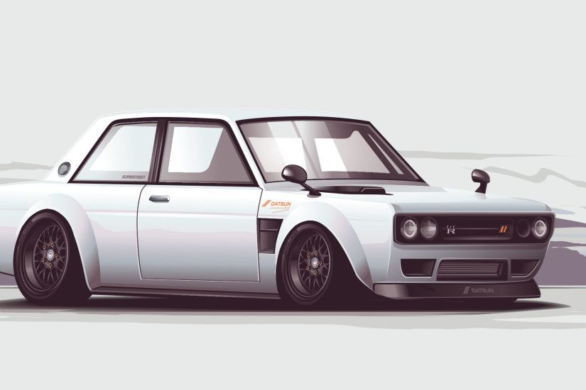 ... datsun 510 vector by depot-hdm